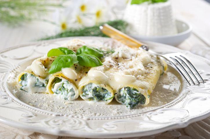 I cannelloni di magro con ricotta e spinaci: la ricetta