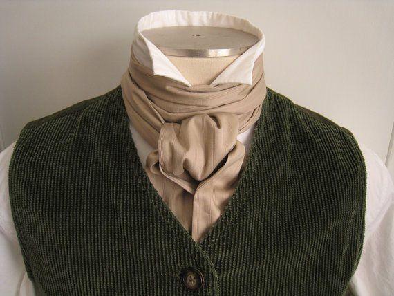 Cravat pride & prejudice groom inspiration