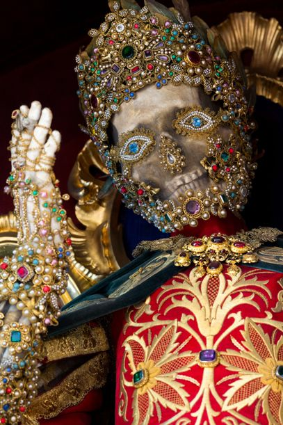 Meet the Fantastically Bejeweled Skeletons of Catholicism's Forgotten Martyrs   Past Imperfect