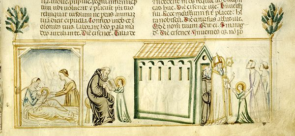 Vitae patrum, MS M.626 fol. 131r - Images from Medieval and Renaissance Manuscripts - The Morgan Library & Museum