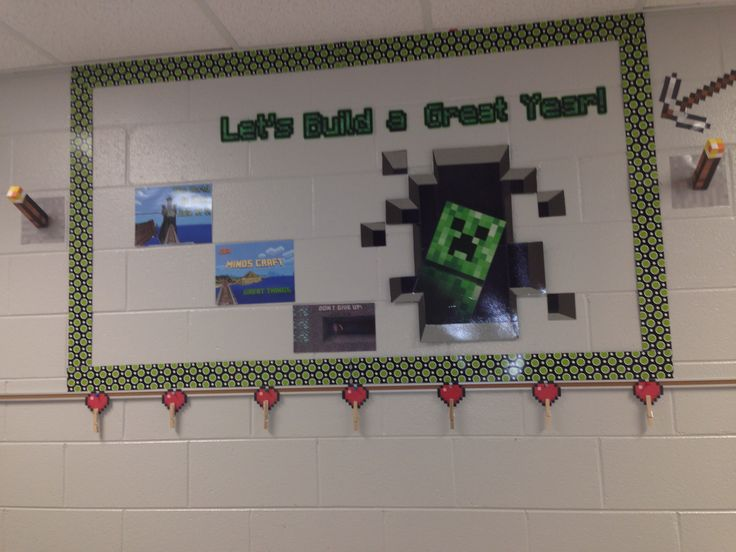 Minecraft bulletin board