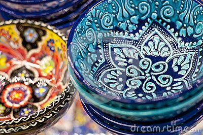 Arte de cerámica turco