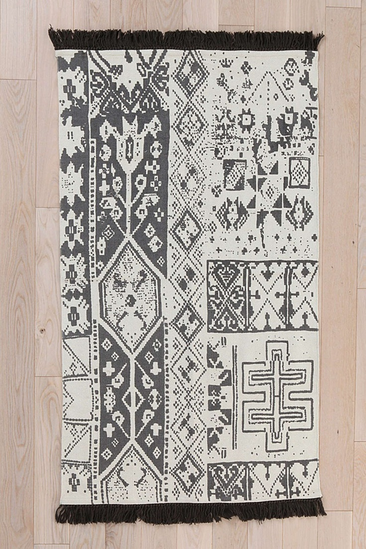 Black Moroccan Rug At Urban Outers