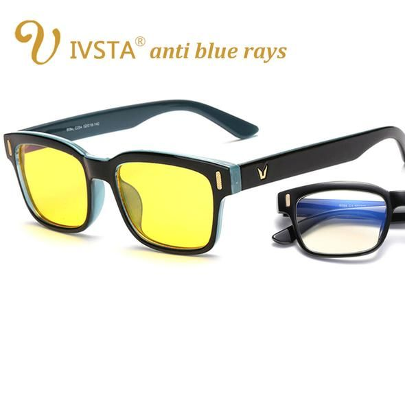 c95e16ca5a1 IVSTA Anti Blue Rays Computer Glasses for Computer Protection Gaming Glasses  UV400 Radiation Lighting Goggles Spectacles 8084