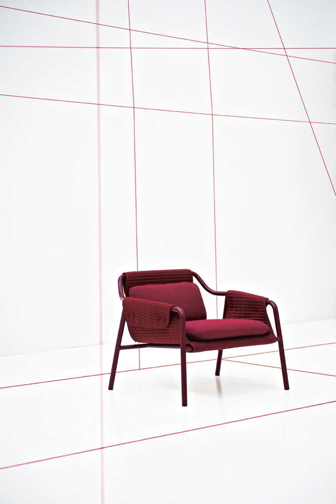 Jacket Armchair Designed By Patrick Norguet For Tacchini
