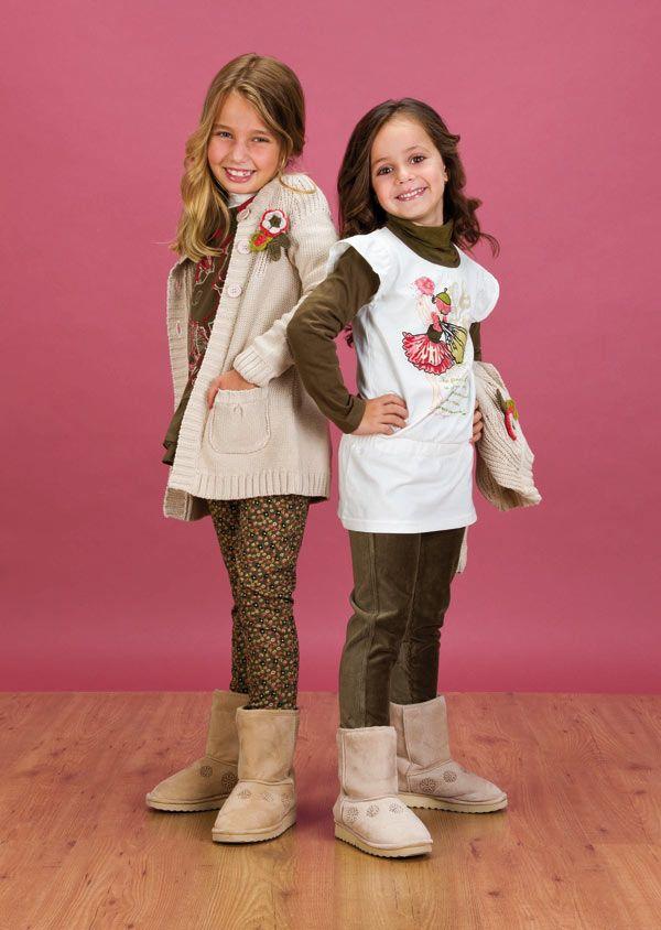 Ropa para niñas Charanga Otoño-Invierno 2012 2013