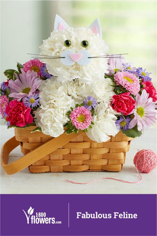 Animal Flower Arrangements