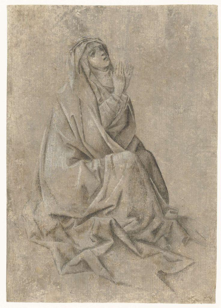 Anonymous | Maria aan de voet van het kruis, Anonymous, c. 1425 - 1440 |