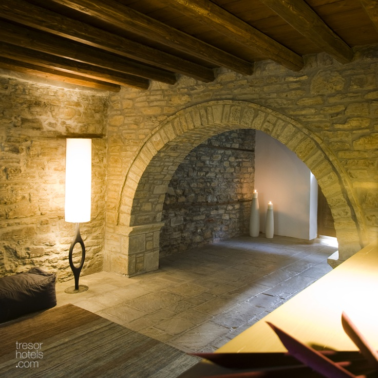 """Trésor Hotels and Resorts_Luxury Boutique Hotels_#Greece_ Could the beauty of a landscape and warm hospitable manners change someone's mood within just a few seconds?"""" The answer is """"yes"""" and this is precisely what will happen to you in Kipi Suites guest house in the area of #Zagori in# Epirus."""