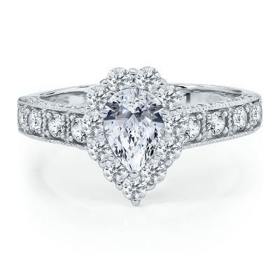 diamond engagement ring in gold helzberg diamond symphonies collections helzberg diamonds
