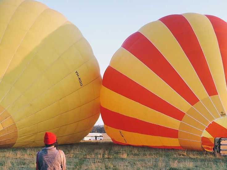 Gazing at Gold Coast's skyline on a hot air balloon. Read more: http://www.matoa-indonesia.com/ambassadors/goldcoast