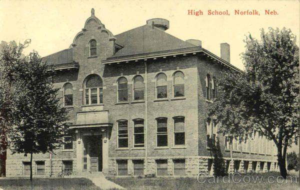 High School Norfolk Nebraska 1914