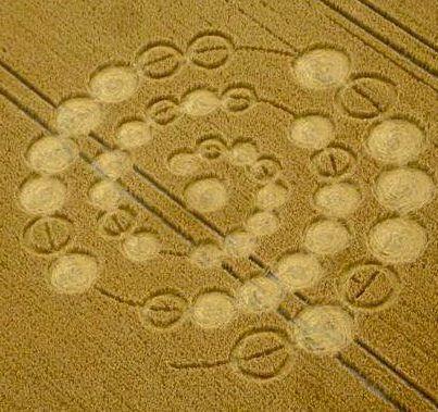 Mensaje alien del circulo de la cosecha  de Windmill Hill descodificado