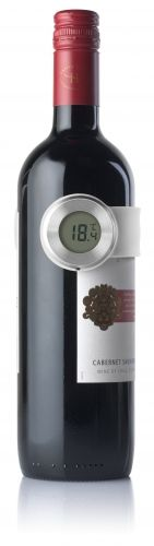 #HA7013 - BACCHUS is a silicone slap on wine thermometer.Just put it around your wine bottle and it will tell you if the wine is the right temperature... www.pslworld.com