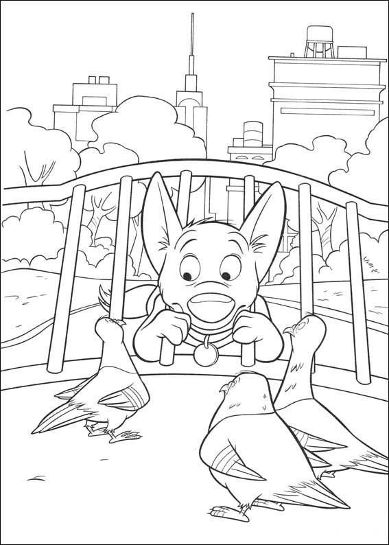 Disney Animal Coloring Book : 25 best images about disney bolt coloring pages on pinterest