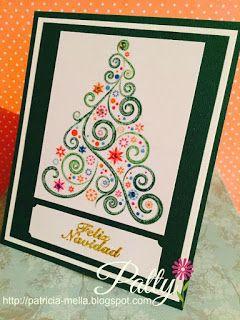 árbol de navidad impreso... Manualidades Fantasy