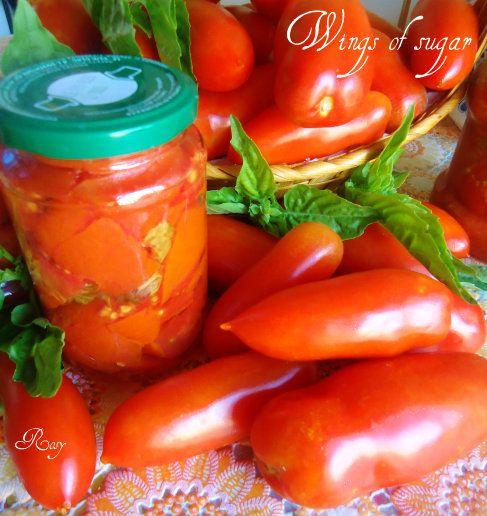 Conserve di pomodori , ricetta