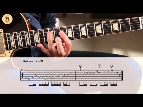 Stairway To Heaven Guitar Solo Lesson - Led Zeppelin with tabs - YouTube