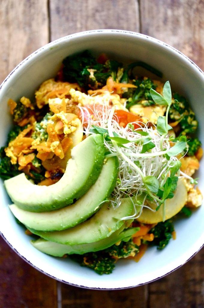 "10. The ""Zen"" Quinoa Bowl http://greatist.com/eat/vegan-breakfast-recipes-you-can-make-15-minutes-or-less"