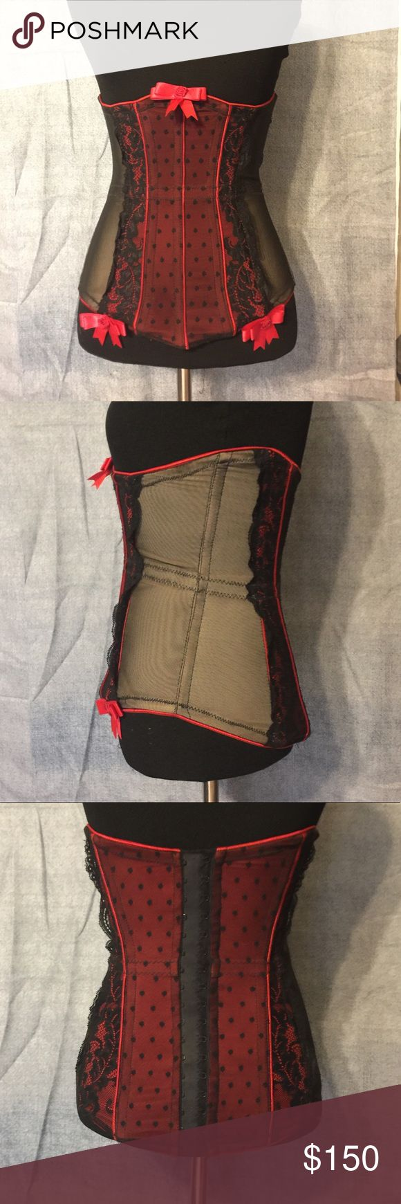 "Waist Trainer Fleurette waist trainer. Its apart of the lingerie line, ""Trashy."" I wore it once for a costume party. Still in PERFECT shape. It was purchased at a local novelty store. The tag says S but it runs small. I'm a size 0 and it fits to a T. I paid $300 for it-it is now $225 online. I'm asking 150 OBO. Make an offer 🙂 trashy Intimates & Sleepwear Shapewear"