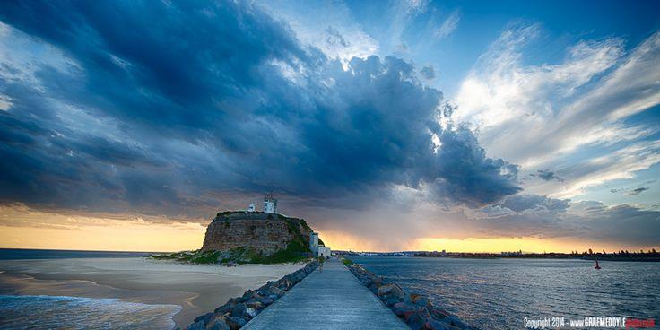 Storm Ahead! Taken by graemedoylephoto in Newcastle, Australia. Weather Underground's World View | Weather Underground