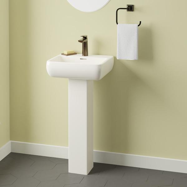 Hudson 100 Vitreous China Pedestal Sink Pedestal Sink Sink