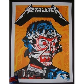 Ames Bros Metallica New York Poster S/N Artist Edition 2016