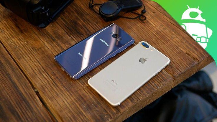 Samsung Galaxy S8 Plus vs Apple iPhone 7 Plus Vergelijking (video) #GalaxyS8 #Samsung #S8
