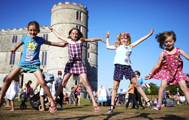 Jumping for joy because Camp Bestival is back! Find out how to get your tickets here http://www.suitcasesandstrollers.com/articles/view/family-friendly-festival-camp-bestival-kids?l=all #GoogleUs #suitcasesandstrollers #travel #travelwithkids #familytravel #familyholidays #familyvacations #traveltips #CampBestival #musicfestivals