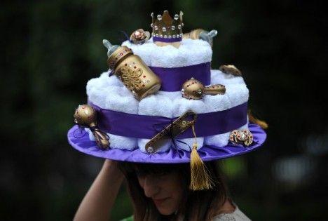 baby-themed hat / Royal Ascot 2013
