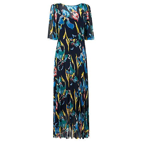 Buy L.K. Bennett Silk Desiree Floaty Dress, Multi Online at johnlewis.com