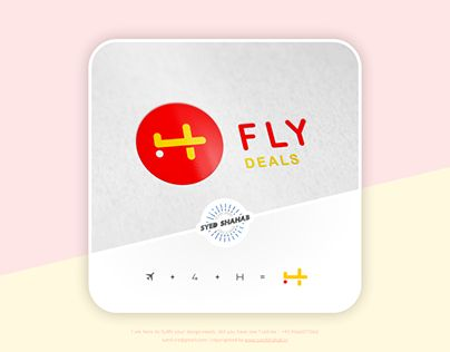 """Check out new work on my @Behance portfolio: """"4H Fly Deals Logo - Flight Logo"""" http://be.net/gallery/52406073/4H-Fly-Deals-Logo-Flight-Logo"""