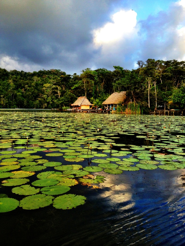 Rio Dulce, Guatemala by Livingston (Puerto Barrios) on the east coast ... the river and lake (Izabal) hold unimaginable beauty ....