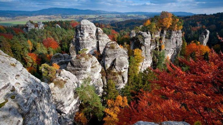 Czeski Raj - skalne miasta, zamki, wulkany i Rumcajs