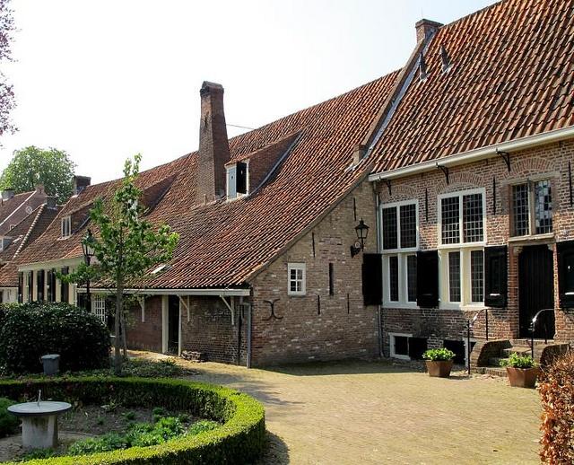 Amersfoort, Hofje Armen de Poth, Netherlands
