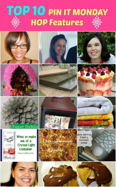 Top 10 Features – Pin It Monday Hop