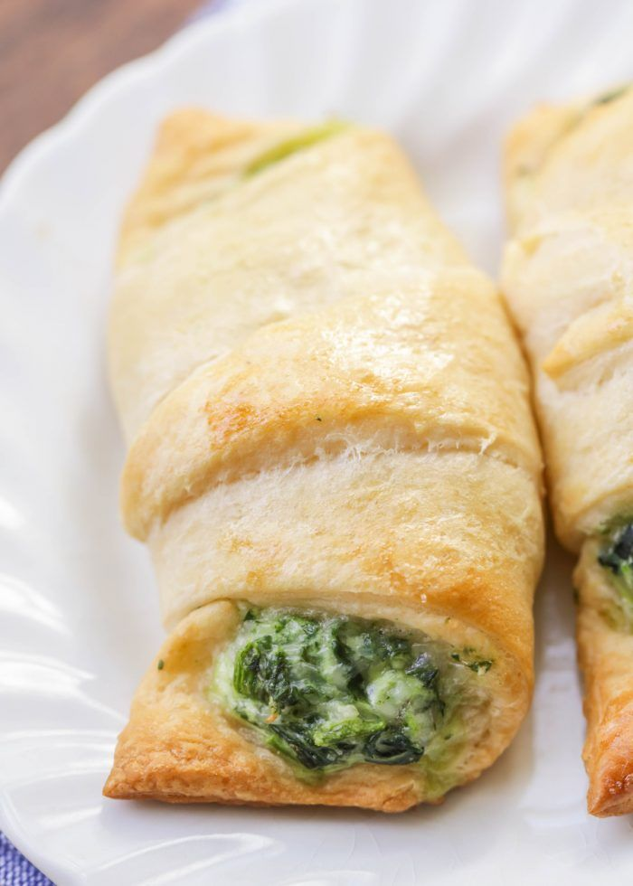 Cheesy Spinach Roll-Ups
