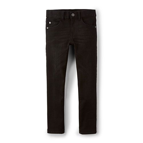 Boys Super Stretch Skinny Jeans - Black Denim Wash | The Children's Place