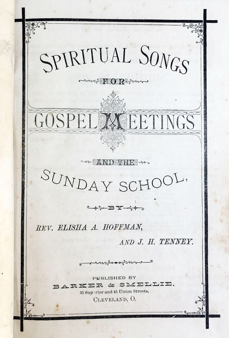 Onezer search image jack - Antique Hymnal 1878 Spiritual Songs For Gospel Meetings Nothing But The Blood Of Jesus