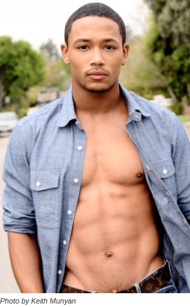 He has grown into such a delicious man lol #RomeoMiller