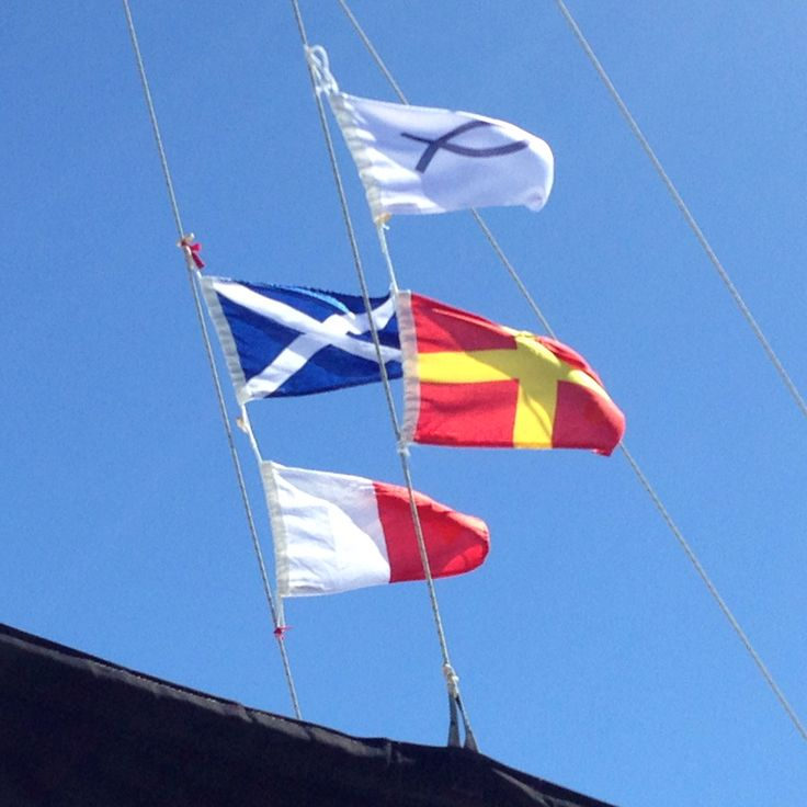 flags on boats meaning