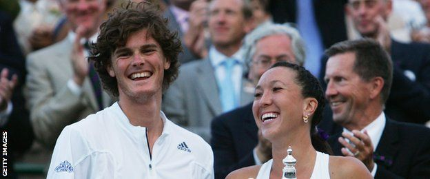 Jamie Murray won the 2007 mixed doubles at Wimbledon with partner Jelena Jankovic