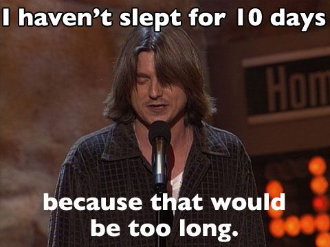 Mitch Hedberg is hilarious