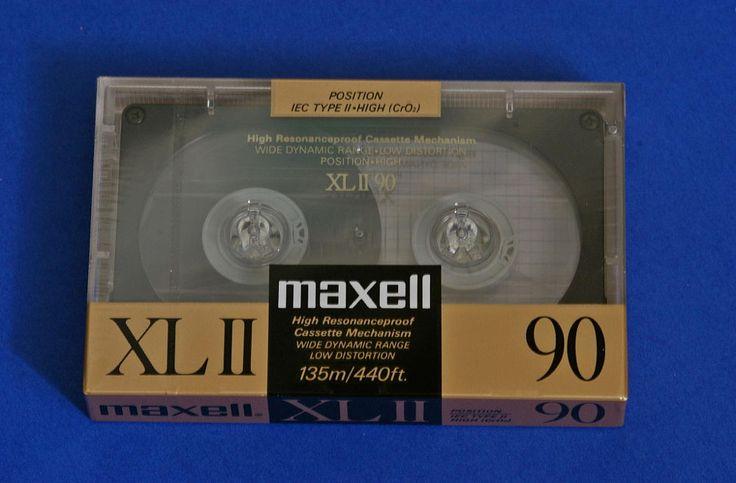 Maxell XL II 90 ('88-'89 EU)