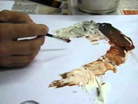 LifeArt School: Lesson 1 - How to paint tonal values with Blending Technique