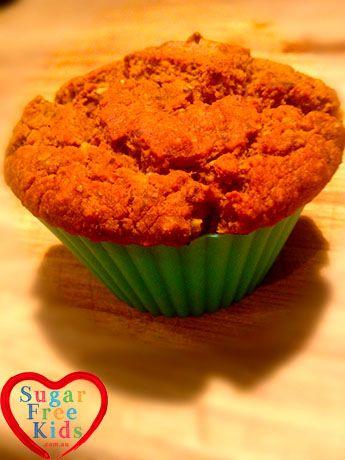 Pumpkin Muffin Recipe - Gluten Free and sugar Free - Sugar Free Kids | Sugar Free Kids