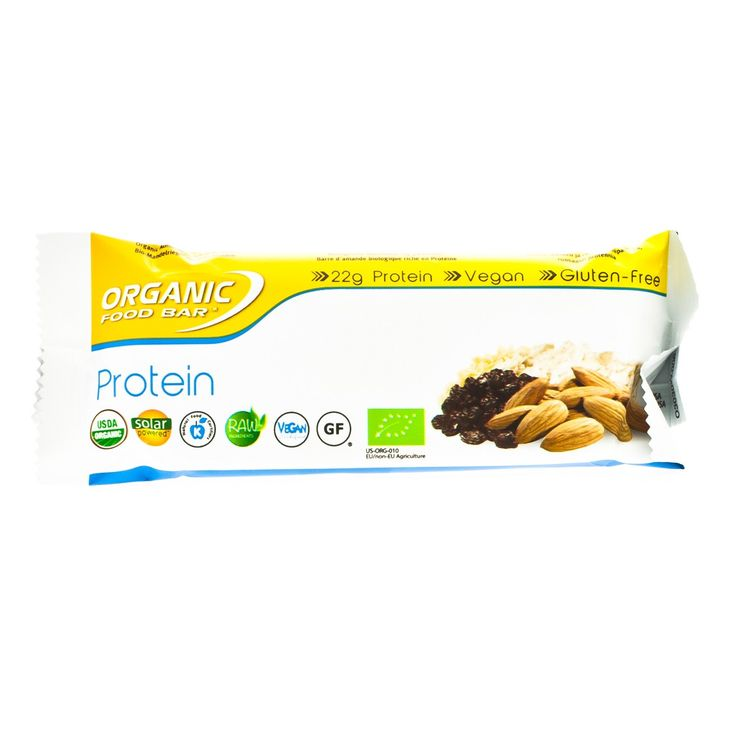 Organic Food Bar Protein Bar - Single (68g)