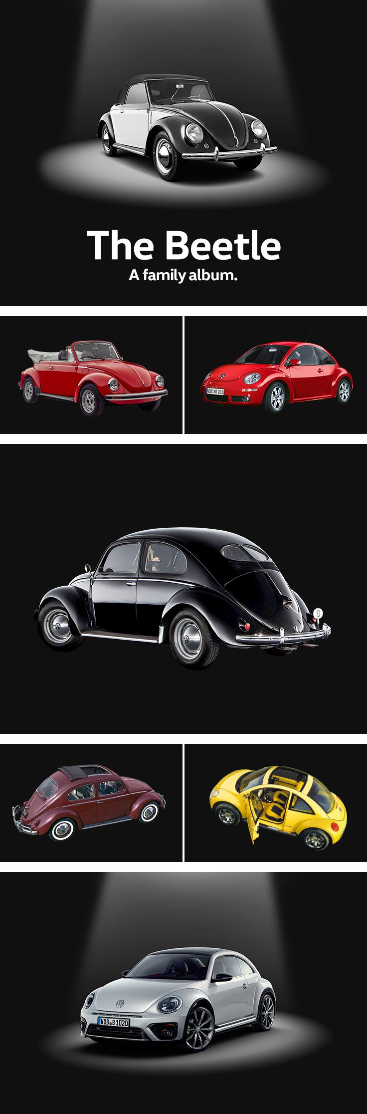 The Volkswagen Beetle is a true icon and a real bestseller: 22 million cars of…
