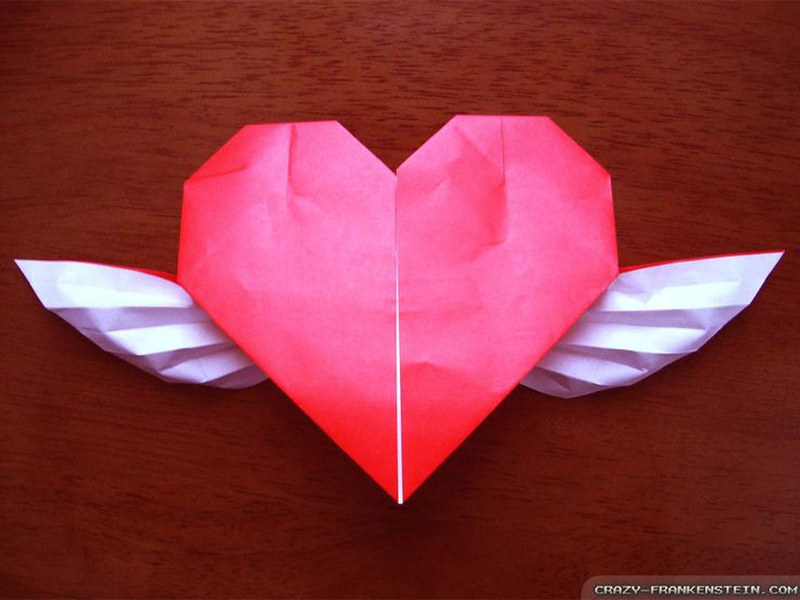 Romantic Origami Choice Image Instructions Easy For Kids