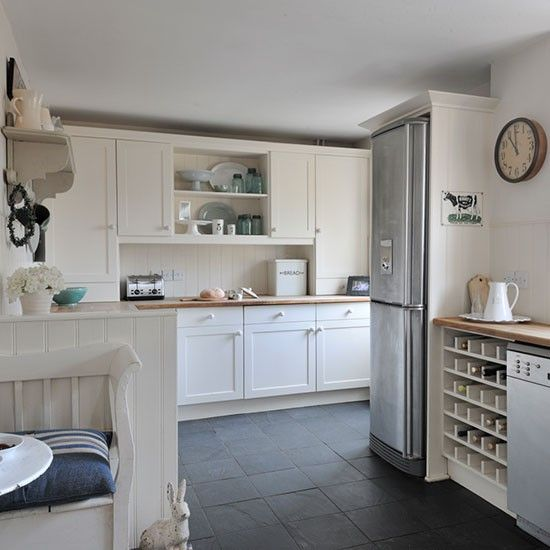 my kitchen - photo taken from housetohome.co.uk -  Take inspiration from this New England-style home